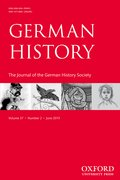 Cover for German History
