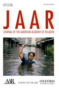 Cover for Journal of the American Academy of Religion