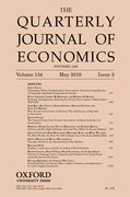 Cover for The Quarterly Journal of Economics