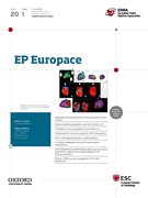 Cover for EP Europace