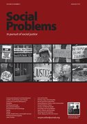 Cover for Social Problems