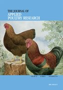 Cover for The Journal of Applied Poultry Research