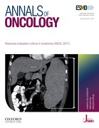 Cover for Annals of Oncology