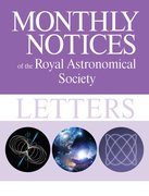 Cover for Monthly Notices of the Royal Astronomical Society: Letters