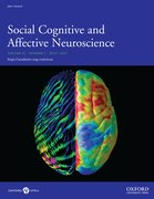 Cover for Social Cognitive and Affective Neuroscience