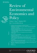 Cover for Review of Environmental Economics and Policy
