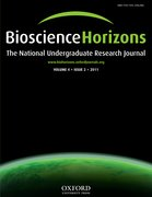 Cover for Bioscience Horizons
