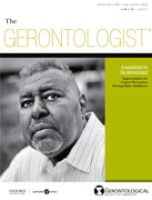 Cover for The Gerontologist