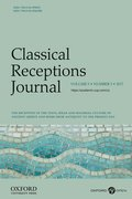 Cover for Classical Receptions Journal