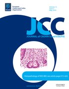 Cover for Journal of Crohn