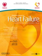 Cover for European Journal of Heart Failure