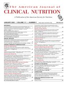 Cover for The American Journal of Clinical Nutrition