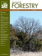 Cover for Journal of Forestry