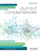 Cover for Journal of Complex Networks