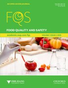 Cover for Food Quality and Safety