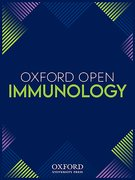 Cover for Oxford Open Immunology