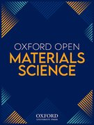 Cover for Oxford Open Materials Science