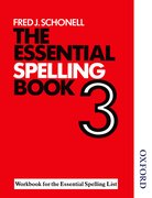 Cover for The Essential Spelling Book 3 - Workbook
