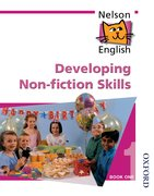 Cover for Nelson English - Book 1 Developing Non-Fiction Skills