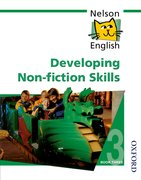 Cover for Nelson English - Book 3 Developing Non-Fiction Skills