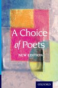 Cover for A Choice of Poets - New Edition