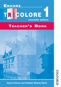 Cover for Encore Tricolore Nouvelle 1 Teacher
