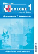Cover for Encore Tricolore Nouvelle 1 Copymasters and Assessment