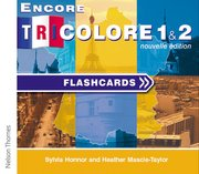 Cover for Encore Tricolore Nouvelle 1 Flashcards CD-ROM (stages 1 and 2)