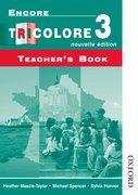Cover for Encore Tricolore Nouvelle 3 Teacher