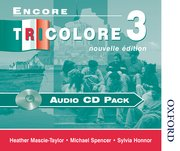 Cover for Encore Tricolore Nouvelle 3 Audio CD Pack