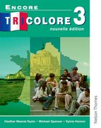 Cover for Encore Tricolore Nouvelle 3 Student Book