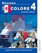 Cover for Encore Tricolore Nouvelle 4 Student Book
