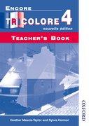 Cover for Encore Tricolore Nouvelle 4 Teacher