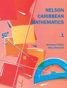 Cover for Nelson Caribbean Mathematics 1