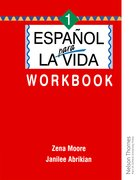 Cover for Espanol para la Vida 1 - Workbook