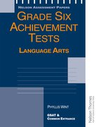 Cover for Grade Six Achievement Tests Language Arts