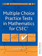 Cover for Multiple Choice Practice Tests in Mathematics for CXC