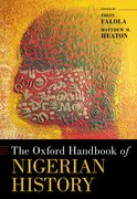 Cover for The Oxford Handbook of Nigerian History