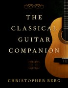 Cover for The Classical Guitar Companion