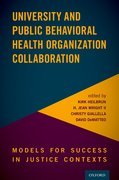 Cover for University and Public Behavioral Health Organization Collaboration