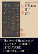 Cover for The Oxford Handbook of Classical Chinese Literature