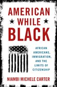 Cover for American While Black