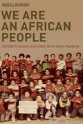 Cover for We Are an African People