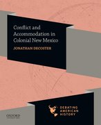 Cover for Conflict and Accommodation in Colonial New Mexico