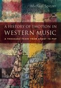 Cover for A History of Emotion in Western Music