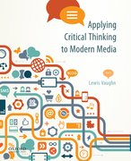 Cover for Applying Critical Thinking to Modern Media