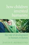 Cover for How Children Invented Humanity
