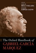 Cover for The Oxford Handbook of Gabriel García Márquez