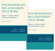 Cover for Psychotherapy Relationships that Work, 2 vol set