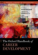 Cover for The Oxford Handbook of Career Development